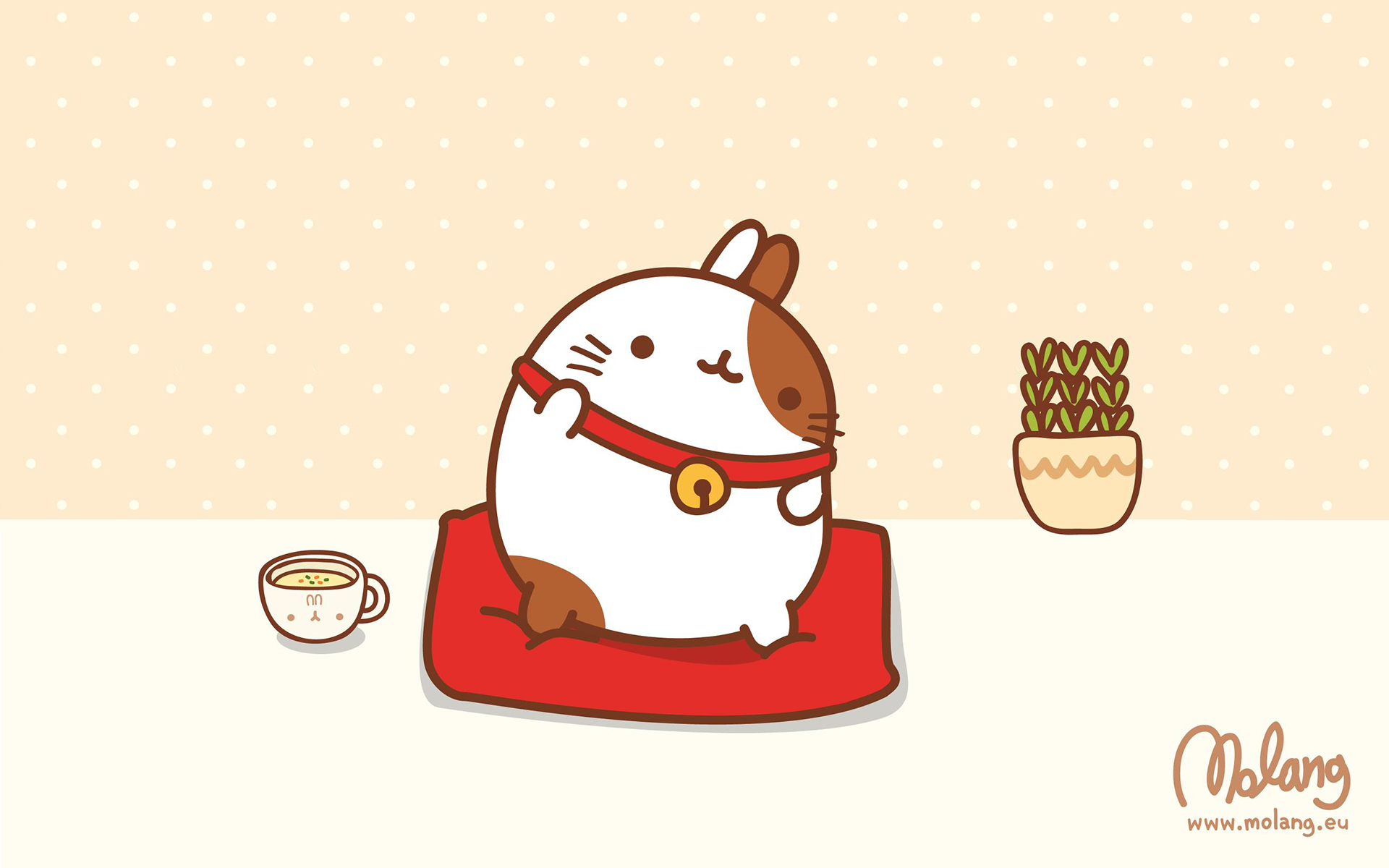 Molang Desktop Wallpaper Kaoani