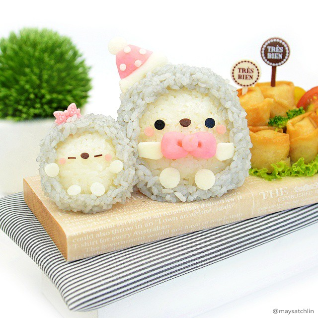 Kawaii Bento by Maysatch Lin - Hedgehog