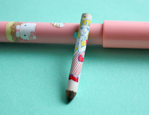 80s toys childhood - shojo pencil