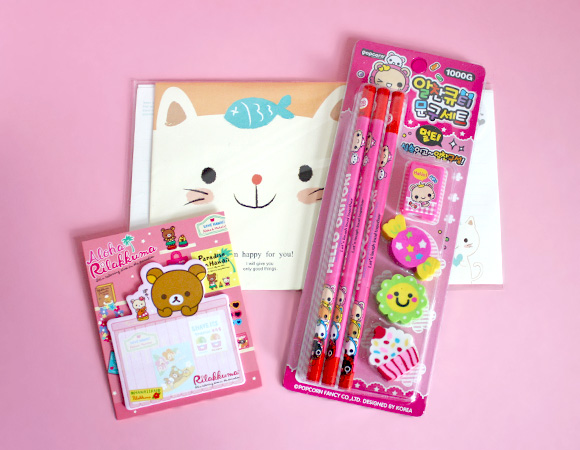 Kawaii Box Review - Stationery
