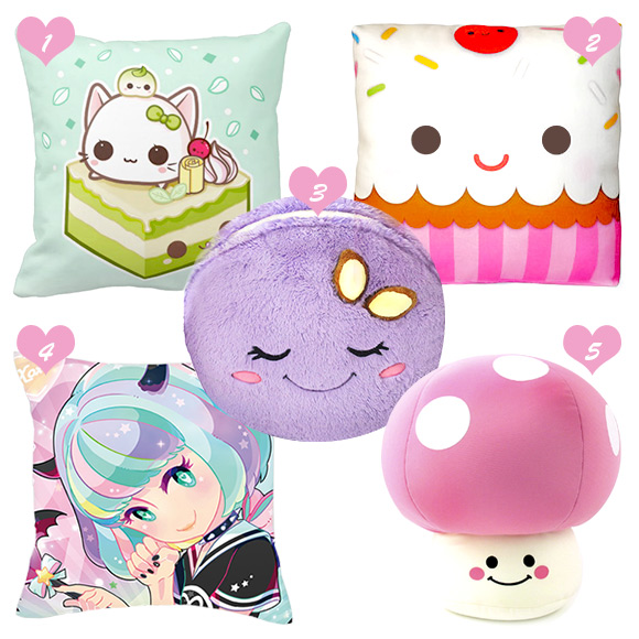 pillows-kawaii-cute