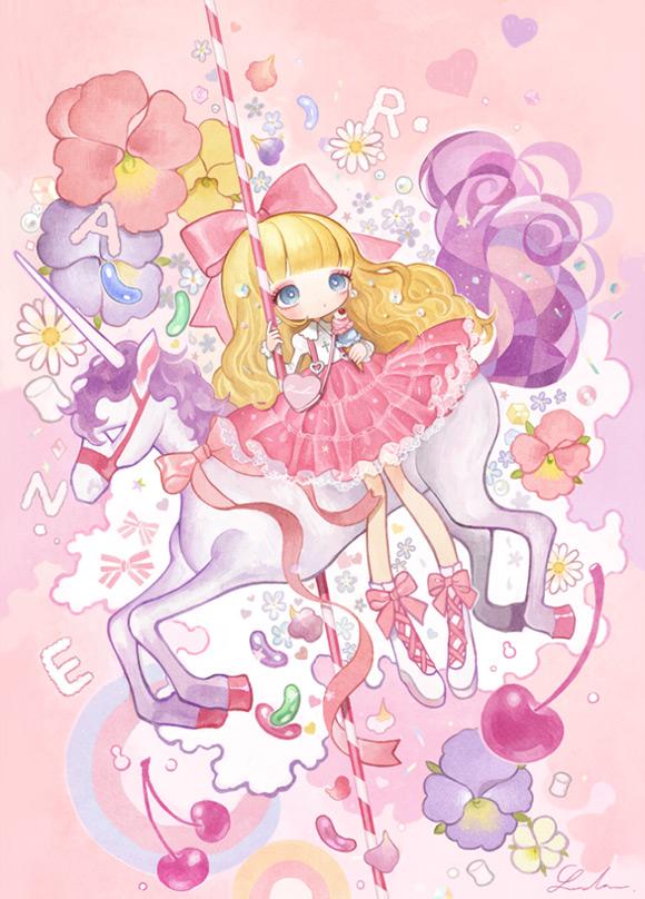 Japanese Illustrator London - Fairy Kei Girl