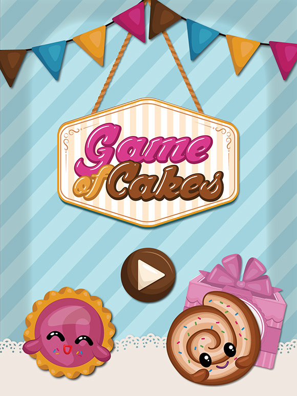 Game of Cakes iphone ipad