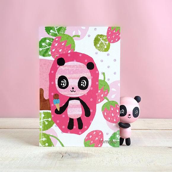 Berry Sweetlife - Cute Panda Card
