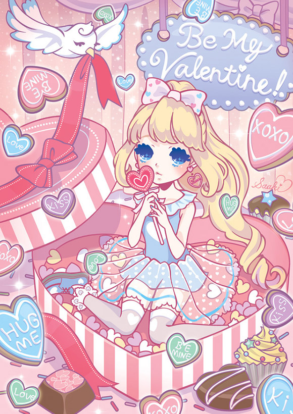 Saaki Fairy Kei Illustrations
