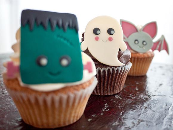 Kawaii Cute Halloween DIy Crafts Toppings Cookies Bags