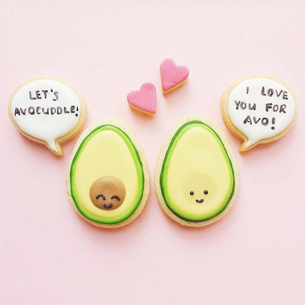 vickiee yo / vickie lu - cute avocado cookies