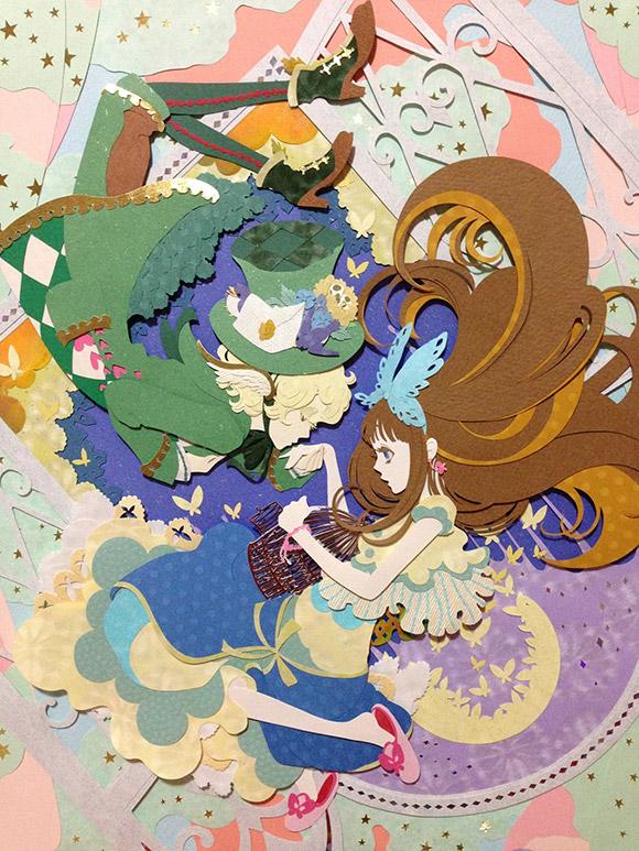 ユ リ - papercut art manga