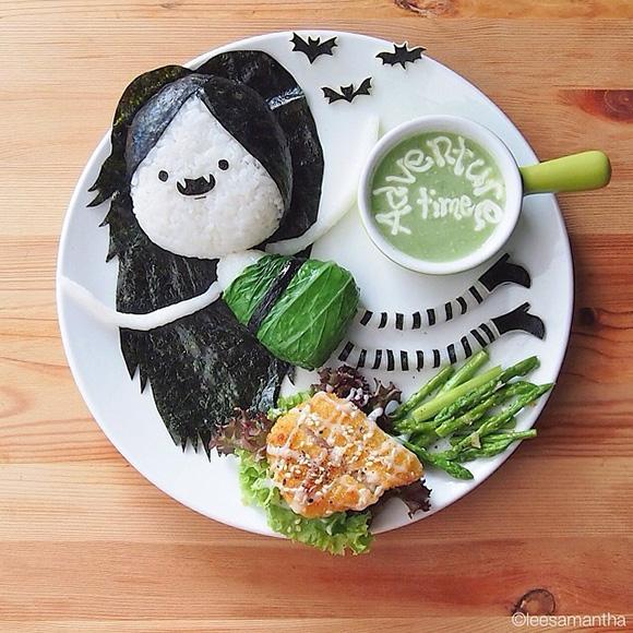 Adventure Time - Food Art Kids Meals Bento Cute Kawaii Samantha Lee