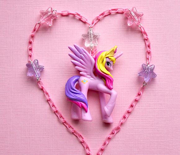 Kawaii Jewelry Shop - MLP Princess Cadance Necklace
