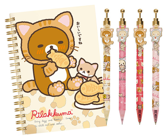 Rilakkuma Cat - Nobiri Neko Stationery