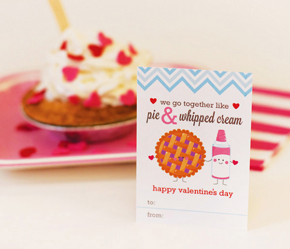Free kawaii Card Printables Valentines DIY Craft