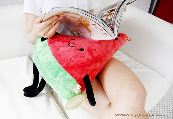 Kawaii Plush Cotton Food - Watermelon