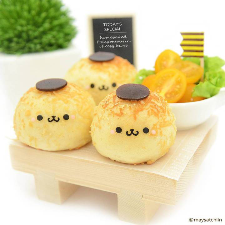 Kawaii Bento by Maysatch Lin - Pom Pom Purin