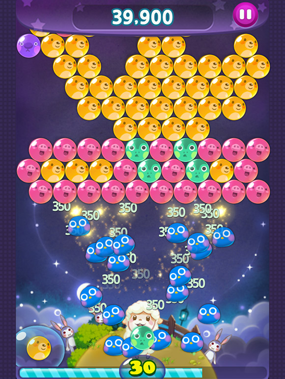 Cute Tiny Pop iPhone and Android Game