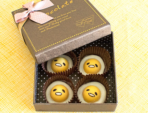 Gudetama Chocolates Recipe from the Sparkle Side Up