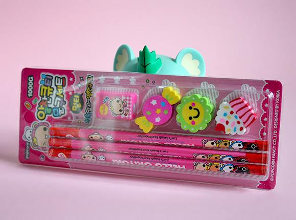 Kawaii Box Review - Pencils