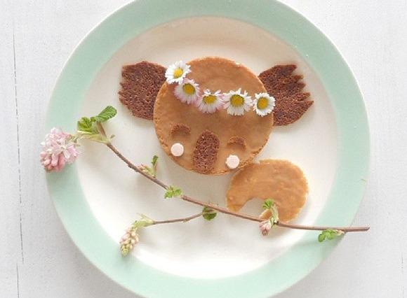 Cute Lunch Food by Sandra v.d. Broek