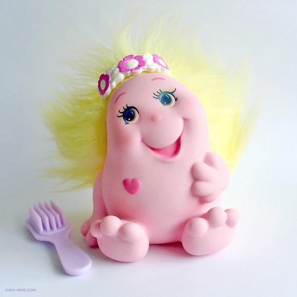 Shyly - Snugglebumms Toys 80s Knuffelbunt Troeliewoelies