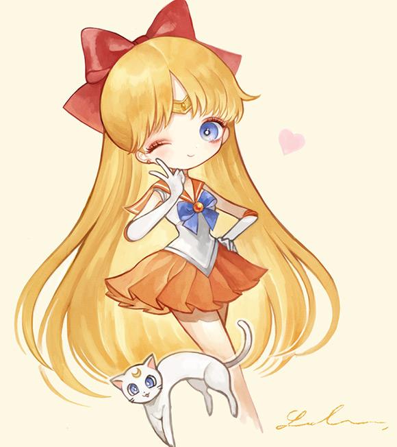 Japanese Illustrator London - Kawaii Sailor Moon