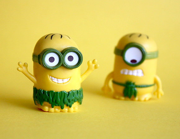 Minion Pencil Caps - by Metin Seven