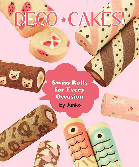 Deco Cakes Book by Junko