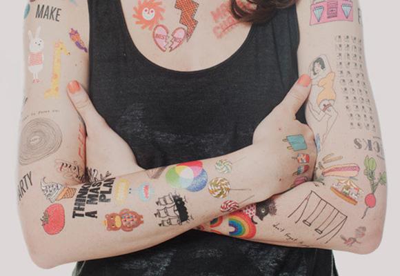 Tattly cute temporary tattoos