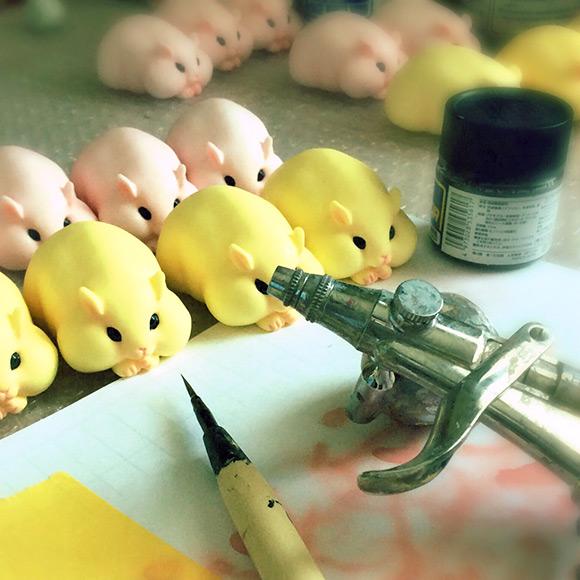 Hamuco Miniature Hamster Cute - Craft