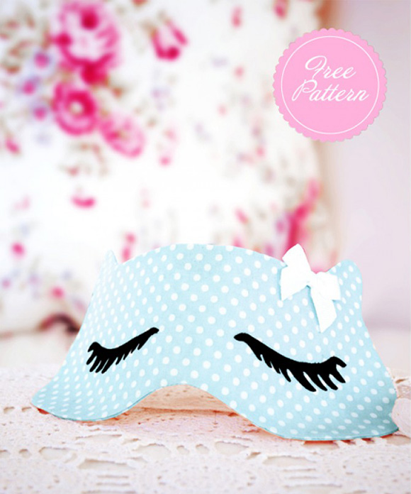 Eye Mask Template DIY