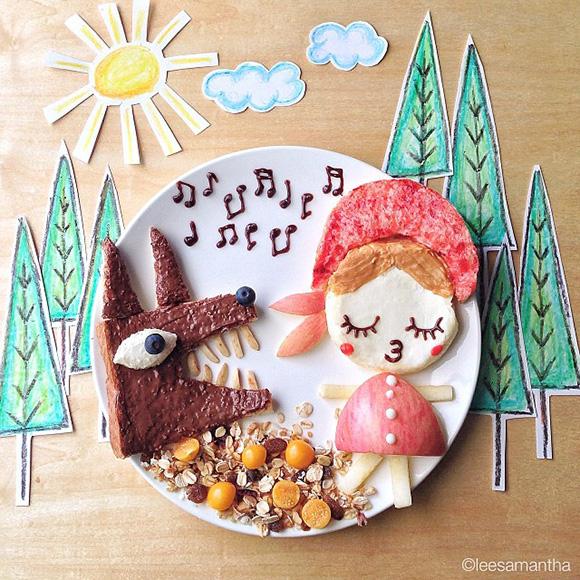 Fairytale - Food Art Kids Meals Bento Cute Kawaii Samantha Lee