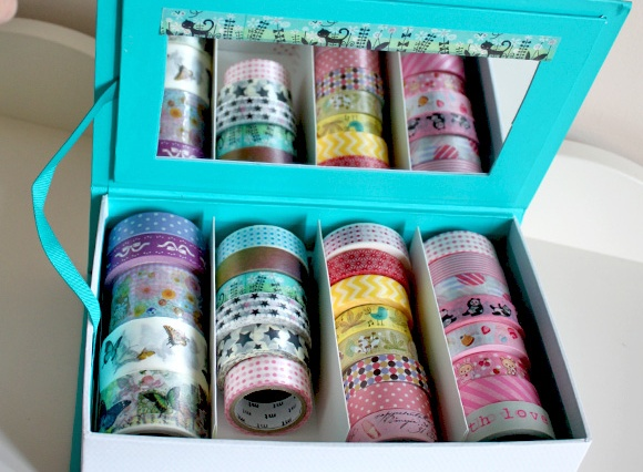 Washi Tape Holder - HEMA Jewelry Box