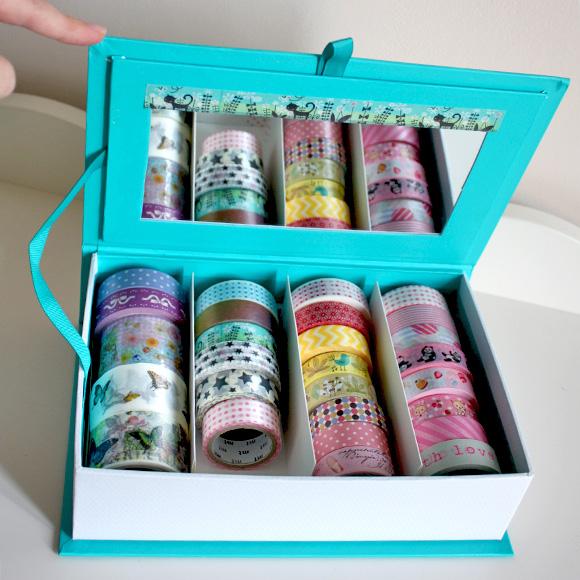 Washi Tape Holder - HEMA Jewelry Box