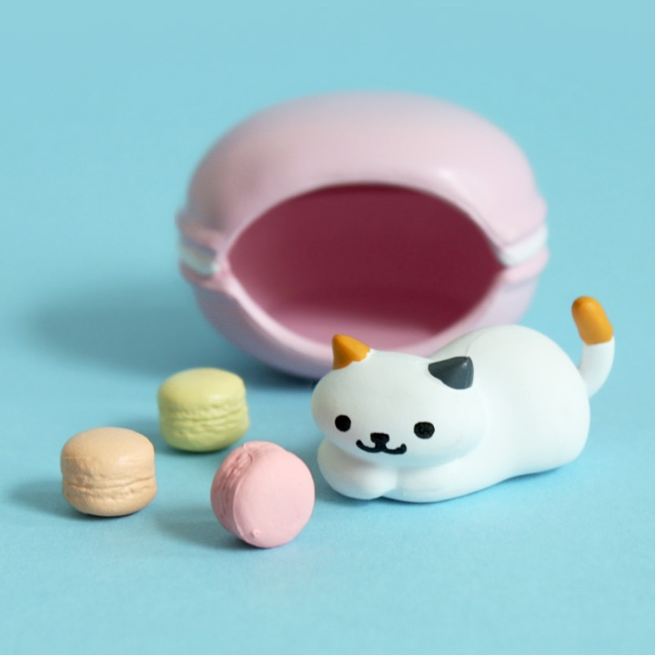 neko atsume toy dottie macarons
