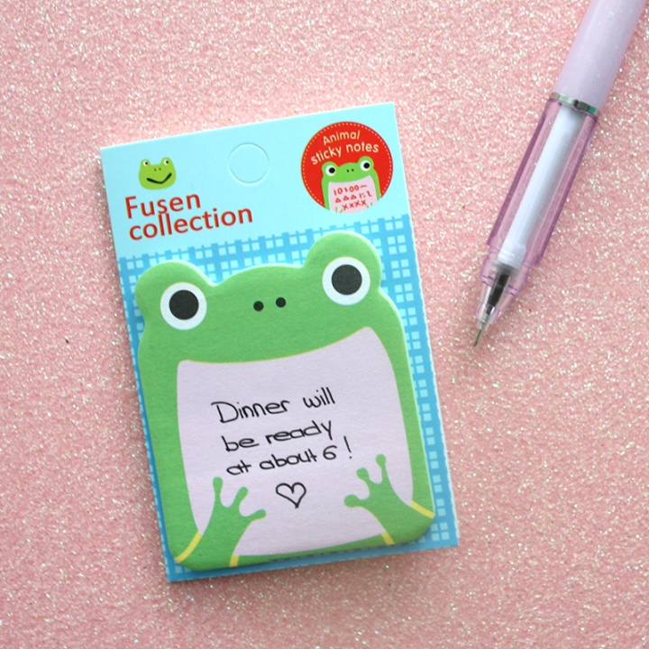 kawaii box japan march 2017 - animal sticky notes