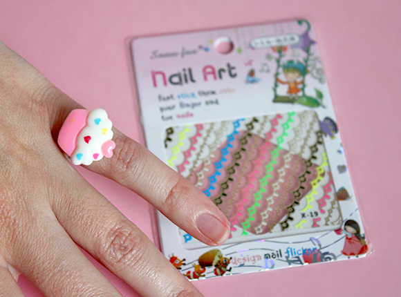Kawaii Box Review - Nail Art