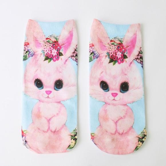 cute bunny socks
