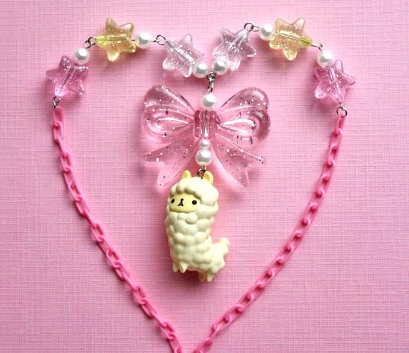 Kawaii Jewelry Shop - Fairy Kei Alpaca Necklace