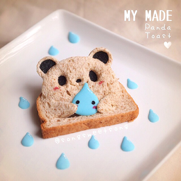 Song Sweet Song - Cute Panda Toast
