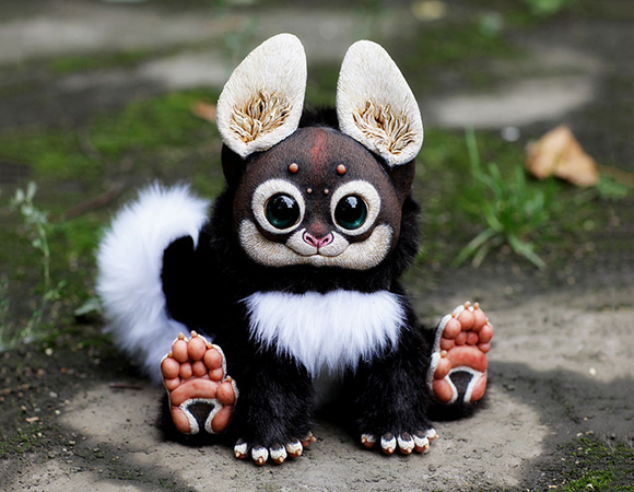 Sanatani Handmade Fantasy Animal Dolls