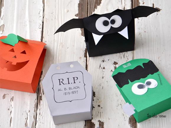 Kawaii Cute Halloween DIy Crafts Cute Treat Bags