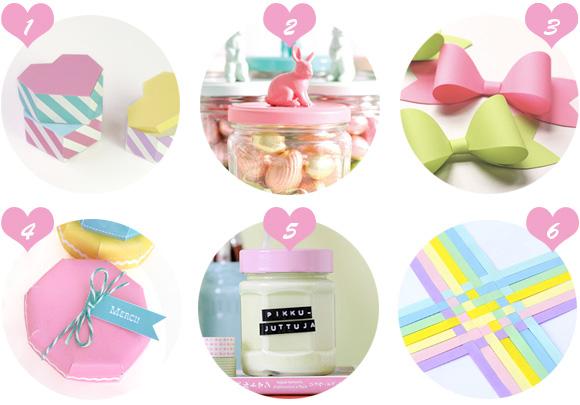 Kawaii Cute DIY Gift Crafts