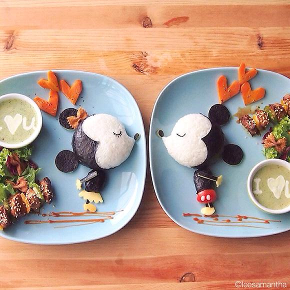 Mickey Mouse - Food Art Kids Meals Bento Cute Kawaii Samantha Lee