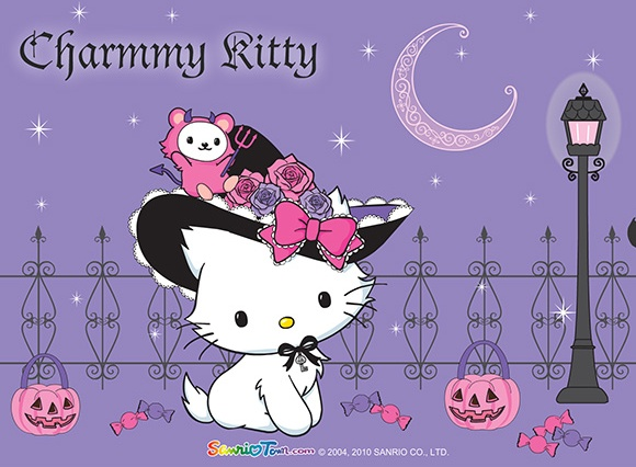 Charmmy Kitty Halloween Desktop