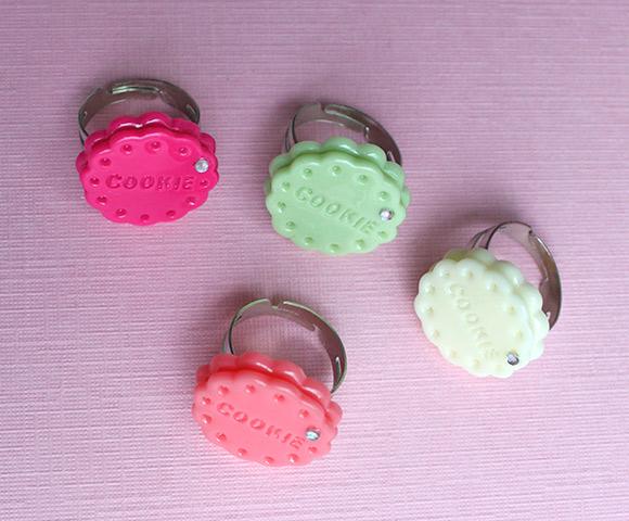 kawaii jewelry fairykei cookie ring