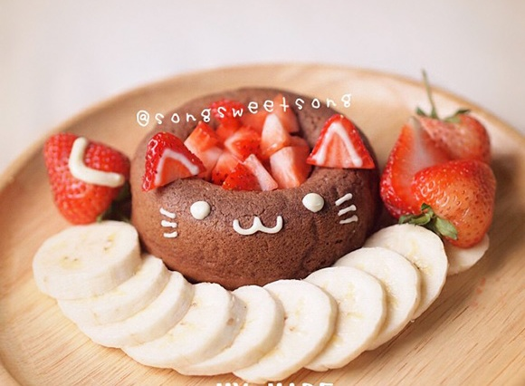 Song Sweet Song - Chocolate Cat Cake