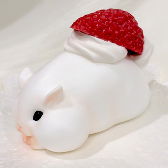Hamuco Miniature Hamster Cute - Strawberry