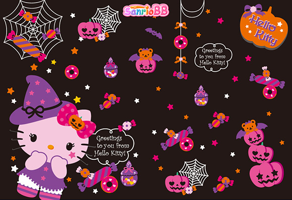 Sanrio hello Kitty Halloween Wallpaper