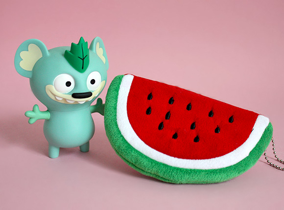 Kawaii Box Review - Plush Watermelon