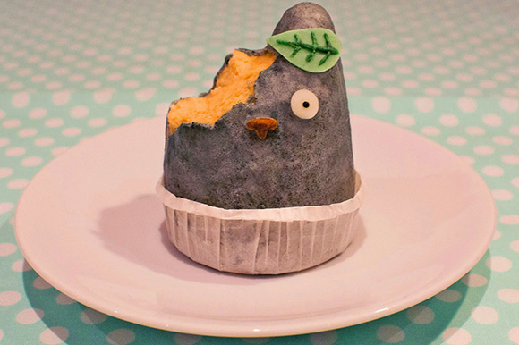 Totoro Cake Recipe from the Sparkle Side Up
