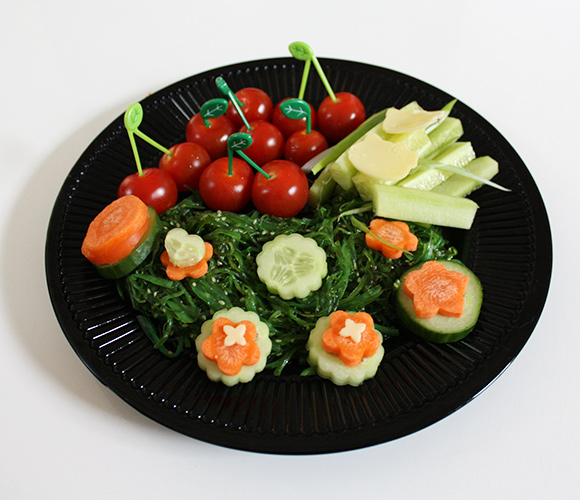 kawaii sushi vegetables